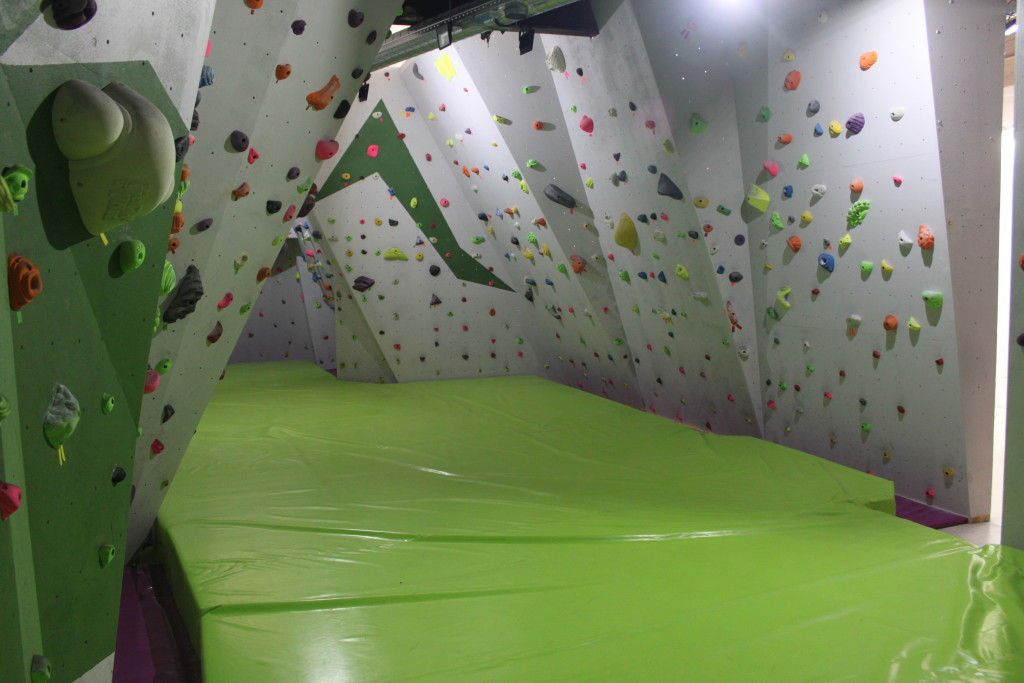 Rocódromo en Vallecas para practicar la escalada